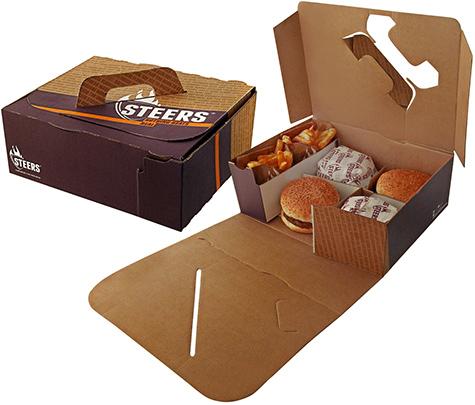 Steers packaging [photo]