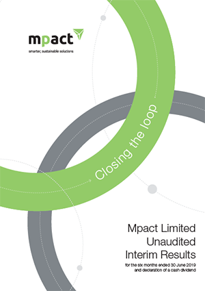 Mpact Unaudited Interim Results 2019 [photo]